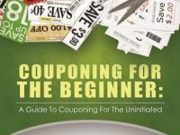 Get the book 'Couponing for the Beginner' to help save you money at checkout