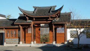 Seattle Chinese garden gate