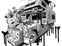 Washington Bus for young adults celebrates with FestiBus