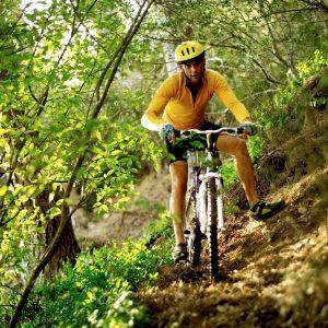 mountain bicycling