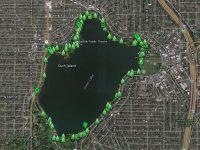 Free online map of Seattle Green Lake Trees