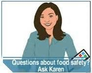 Free 'Ask Karen' and FoodKeeper apps from USDA answer food safety questions