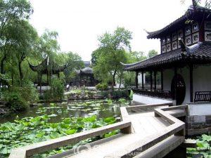 Seattle Chinese garden bridge