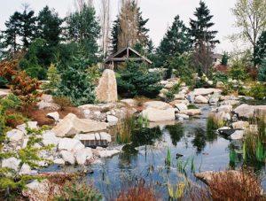South Seattle College Arboretum Coenosium Rock Garden
