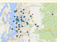 Free online interactive map to Historic Places Around King County, Washington