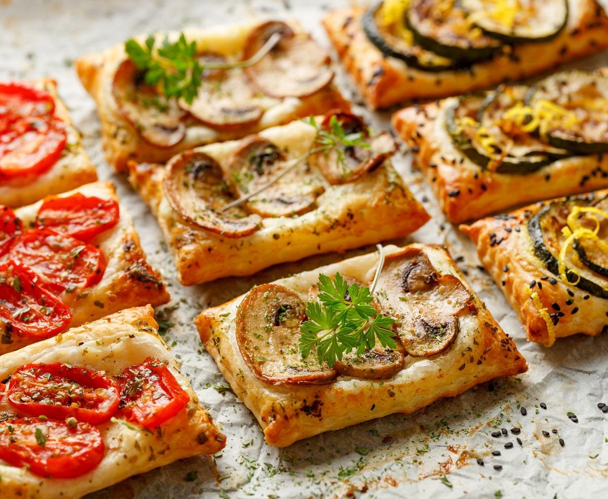 Бутерброды со слоеным тестом рецепты