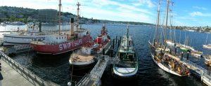 Historic Ships Wharf by Wayne Palsson
