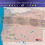 Oregon solar eclipse map 8-21-2017