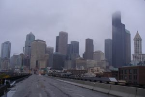 Seattle's Alaskan Way Viaduct October 2011 photo by Carole Cancler