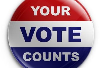 Your vote counts button - iStockPhoto.com