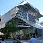 Seattle Public Library 4th Ave day By Bobak Ha'Eri