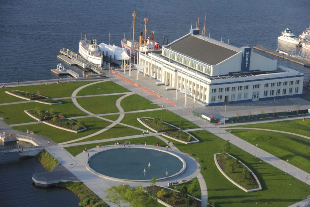 MOHAI Exterior from above