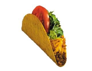 Taco Time crisp taco