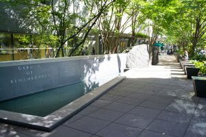 Benaroya Garden of Remembrance Seattle WA
