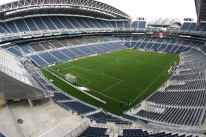 Century Link Field stadium in 2011. Home of Seattle Seahawks and Seattle Sounders. Photo by anderm - DepositPhotos.com