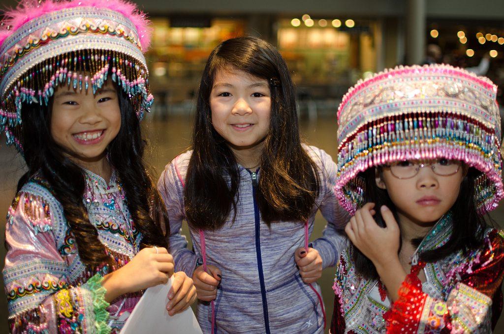 Hmong festival at Seattle Center