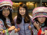 Hmong festival at Seattle Center