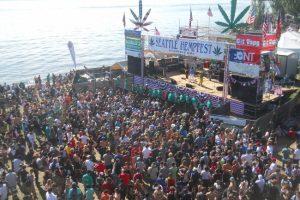 Seattle Hempfest stage