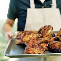 Sunset magazine grilled chicken