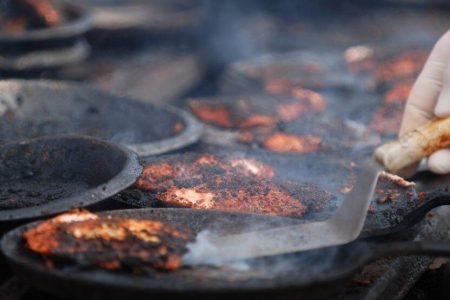 Ballard Seafood Fest grilled salmon