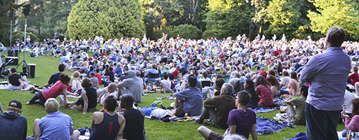 Seattle Chamber music in the park