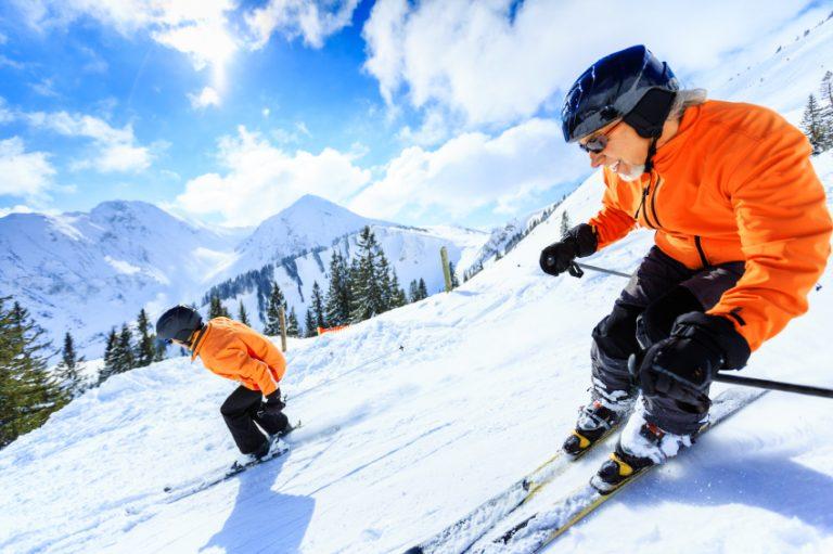 downhill skiers iStock_000023582367