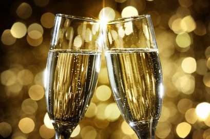 Toasting with champagne - iStockPhoto.com