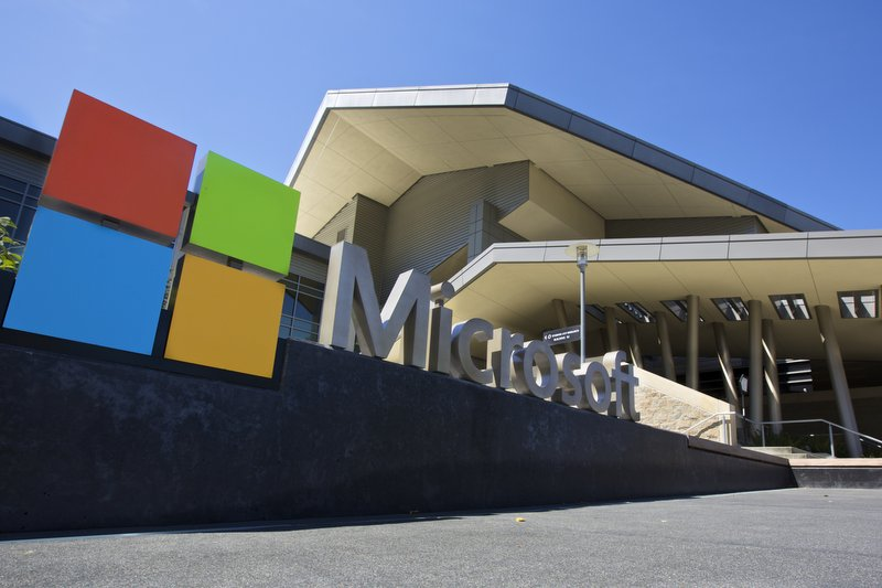 Self-guided free tours at Microsoft Visitor Center (Stephen Brashear/Getty Images)