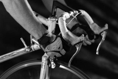 bicyclist handlebars