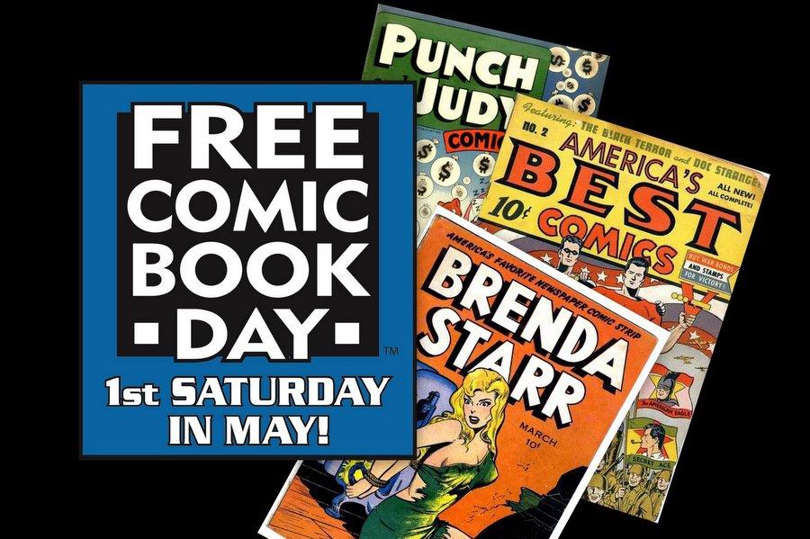 Free Comic Book Day Seattle