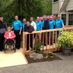 Free wheelchair ramps built for disabled low-income homeowners in King and Snohomish counties