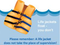 Low cost ($20-30) life jackets on sale at Seattle public pools