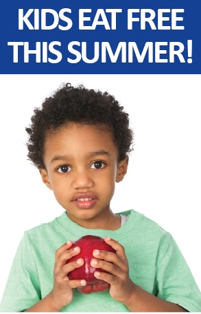 kids eat free summer meal program