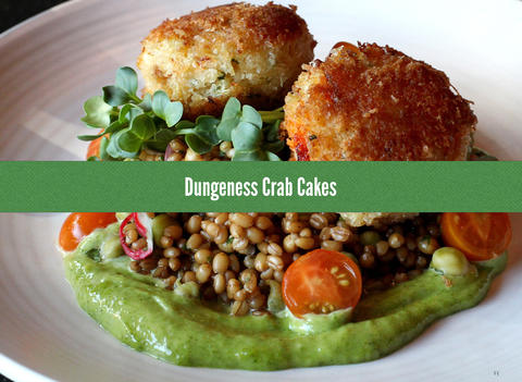 Fresh from Seattle cookbook Dungeness Crab Cakes