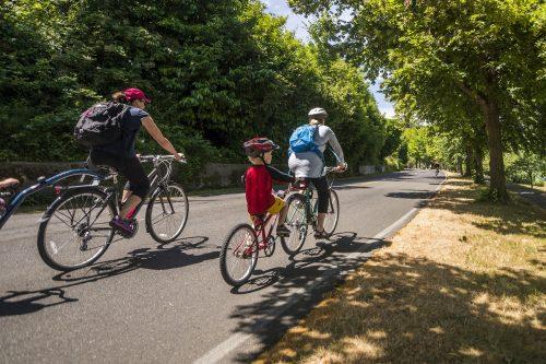 Seattle Bicycle Sundays along Lake Washington Boulevard