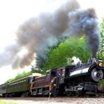 Antique train rides on Snoqualmie Valley Railroad