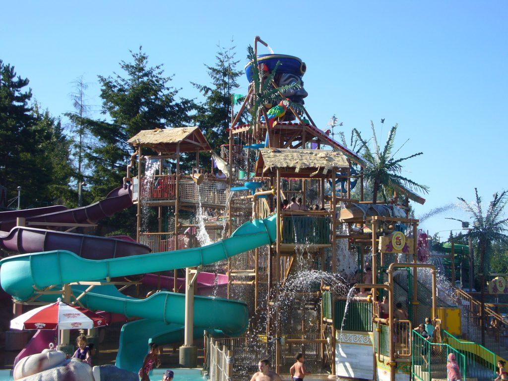 Wild Waves slide tower