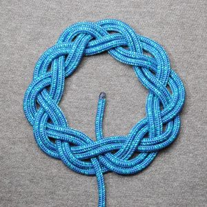 Double Turk's head knot photo by David J. Fred (CC2.5)