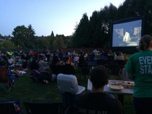 Tukwila summer movies in the park