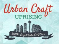 Free Urban Craft Uprising indie arts, crafts, and food shows