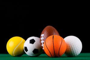 Sports balls iStock_000003431803