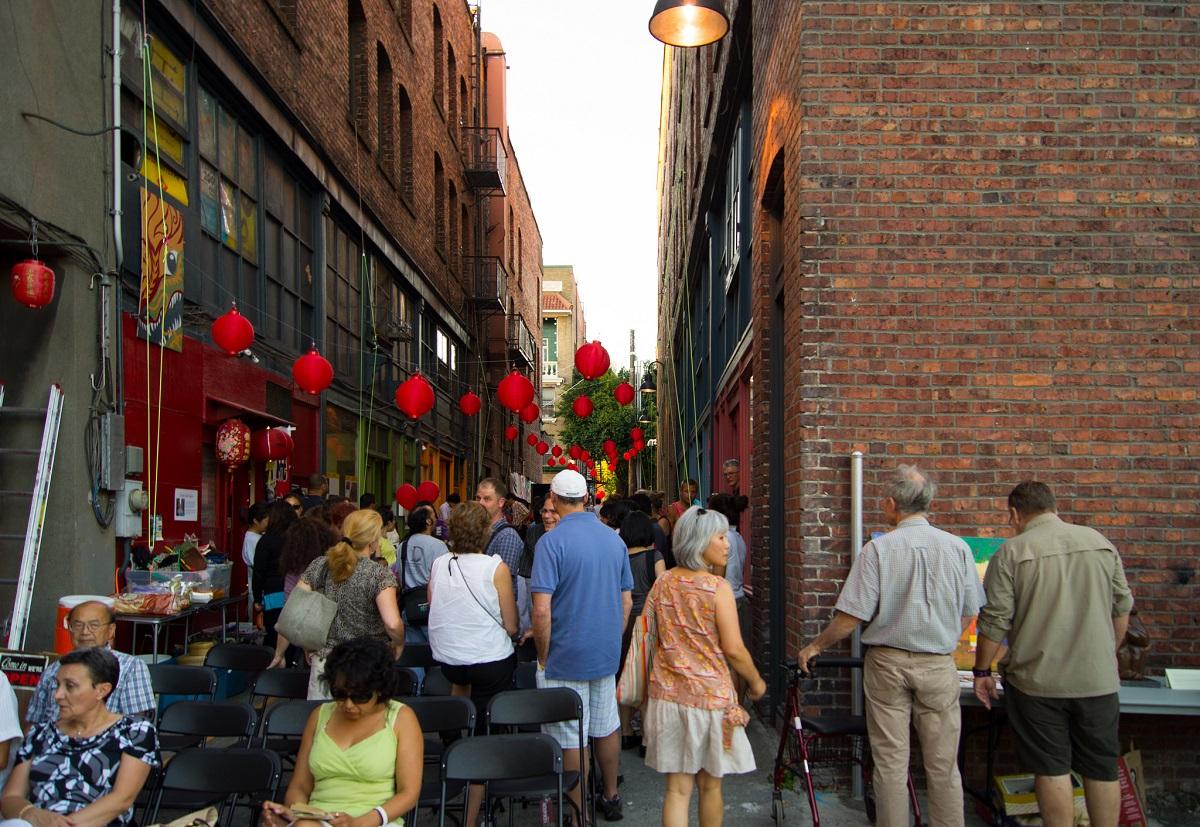 Canton Alley Jam Fest photo by Trevor Dykstra (CC2)