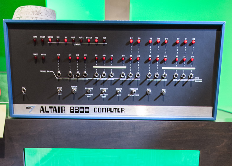 Living Computer Museum Altair8800