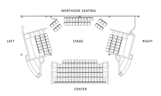 ArtsWest Theatre seating