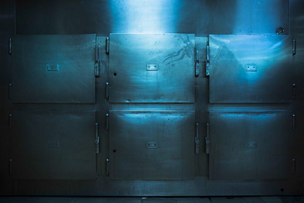 morgue trays