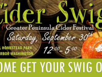 Discount advance tickets to Cider Swig festival in Gig Harbor