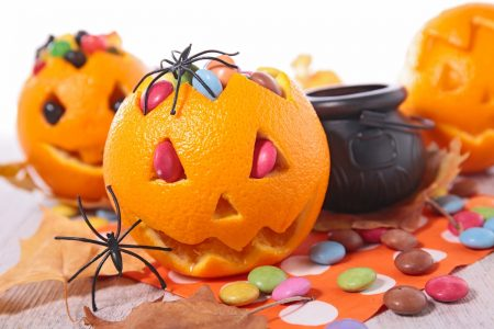 halloween party candy treats