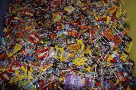 Halloween candy buyback program