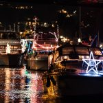 Seattle Christmas Ships lights, music, and bonfires