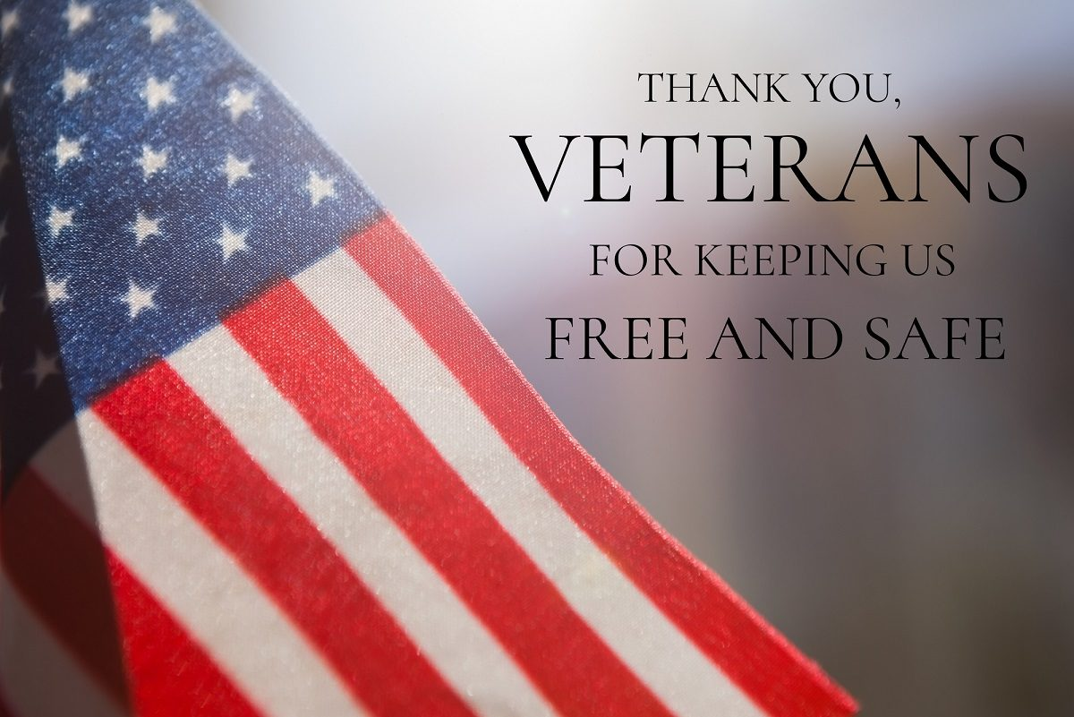VETERANS DAY – November 11